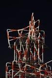 Une sculpture en rue fabriquée à partir de des barrières Image libre de droits