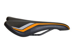 Une selle de bicyclette Photographie stock