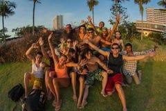 Une société des jeunes de différents pays Photos libres de droits