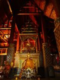Une soirée au temple Photographie stock libre de droits