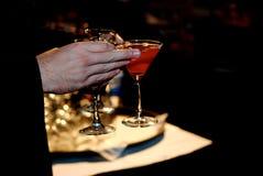 Une soirée des boissons Photographie stock