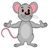 Une souris adulte debout Photographie stock