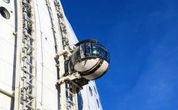 Une sphère en verre sur Ericsson Globe Image stock