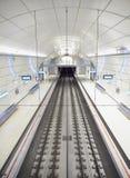 Une station de métro de souterrain d'Euskotren, Topo San Sebastian, Gipuzk photo libre de droits