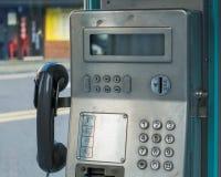 Une station de téléphone public, Corée du Sud photographie stock libre de droits