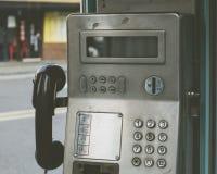 Une station de téléphone public, Corée du Sud photos libres de droits