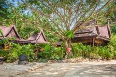 Une station de vacances luxueuse en Phi Phi Island, une île tropicale de la Thaïlande Image libre de droits