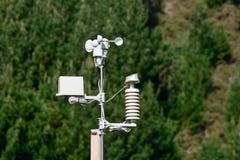 Une station météorologique Photographie stock