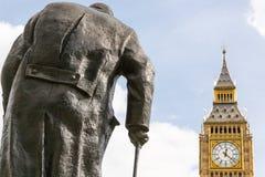 Une statue au Parlement Sqare image stock