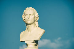 Une statue au Portugal Image stock