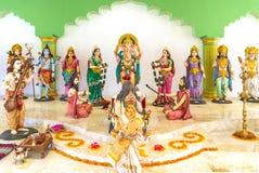 Une statue d'un dieu d'hindouisme Photo stock