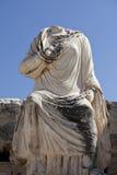 Une statue dans la ville d'Ephesus Image stock