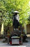 Une statue dans le complexe de temple de Toji à Kyoto, Japon Photographie stock