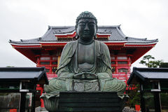 Une statue de Bouddha Image stock