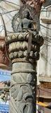 Une statue de Bouddha Photos stock