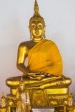 Une statue de Bouddha Photo libre de droits