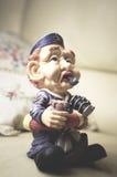 Une statue de capitaine de la marine marchande Image stock