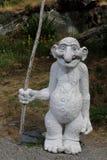 une statue de troll en Norvège image libre de droits