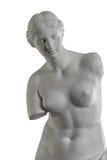Une statue de Vénus, colonne de plâtre photos libres de droits