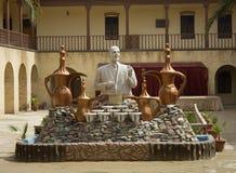Une statue du poète Muhammad Mahdi Jawahiri Photographie stock