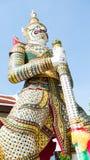 Une statue géante de la littérature thaïlandaise Image stock
