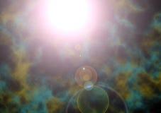 Une supernova stellaire illustration de vecteur
