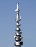 Une télévision d'antenne par radio. Photos libres de droits