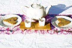 Temps #1 de thé Photographie stock
