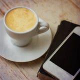Une tasse d'expresso de café, Photographie stock libre de droits