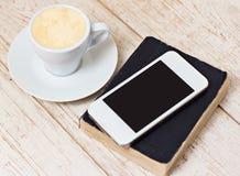 Une tasse d'expresso de café Photo libre de droits