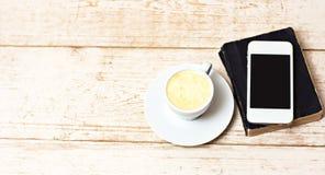 Une tasse d'expresso de café Images stock