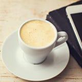 Une tasse d'expresso de café Image libre de droits