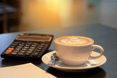 Une tasse de café Photographie stock libre de droits