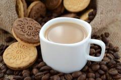 Une tasse de caf? photographie stock