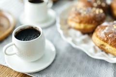 Une tasse de coffe photos stock