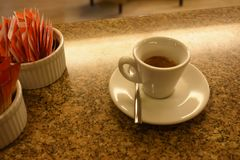 Une tasse de coffee2 photos stock