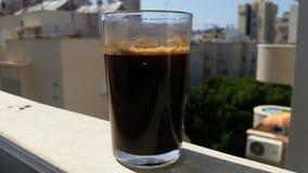 Une tasse de matin de café photo stock