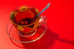 Une tasse de thé Images libres de droits