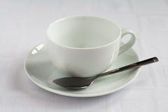 Tasse de thé et soucoupe Photo libre de droits