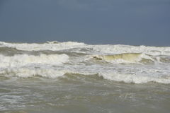 Une tempête en mer Photo libre de droits