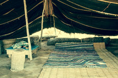 Une tente de Berber dans Matmata, Tunisie image stock
