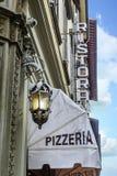 Une tente de pizzeria Images libres de droits