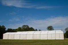 Une tente de réception ou d'événement Photo stock