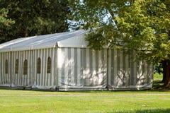 Une tente de réception ou d'événement Photos libres de droits