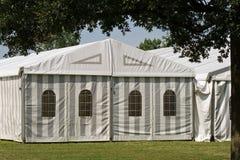 Une tente de réception ou d'événement Image stock