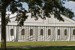 Une tente de réception ou d'événement Photo libre de droits