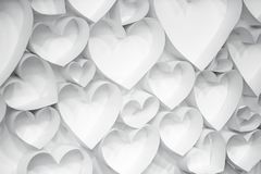 Une texture de papier de fond de coeurs photos libres de droits