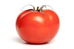 Une tomate d'isolement Photographie stock libre de droits