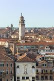 une tour à Venise Italie Image stock