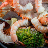 Une tour de fruits de mer Photographie stock